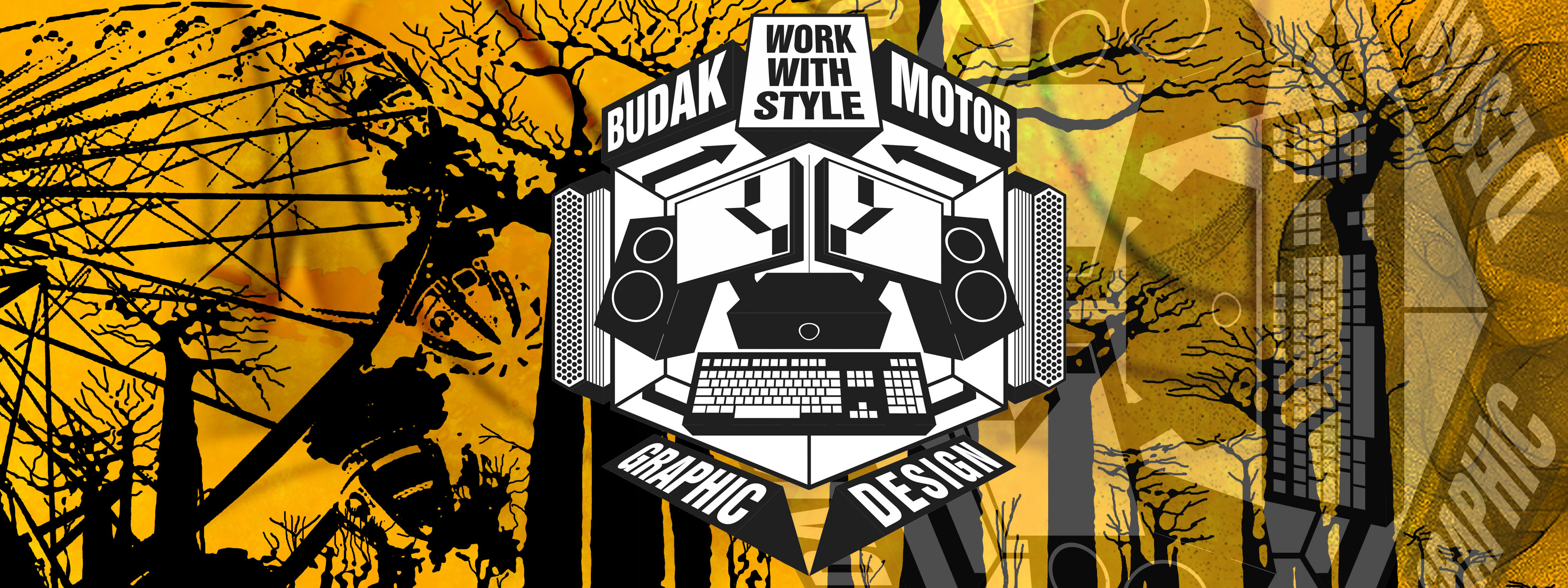 Graphic Design oplu budakmotor